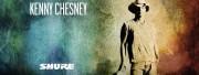 L'icône de la musique country choisit Shure
