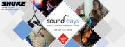 Retrouvez Shure aux Sound Days 2018 !