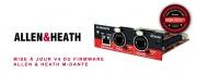 MAJ V4 firmware des cartes Allen & Heath M-DANTE
