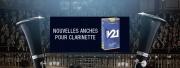Nouvelle anche pour clarinette de Vandoren, la V21