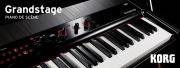 Grandstage, le nouveau clavier de scène signé KORG