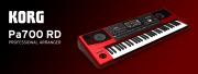 Le Pa700 de Korg s'habille de rouge