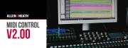 Allen & Heath MIDI Control : version 2.00