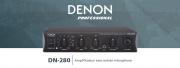 DN-280 : amplificateur compact avec entrée ligne