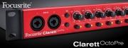 Focusrite présente la nouvelle Clarett OctoPre