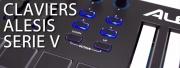 Les claviers Alesis Série V sont disponibles