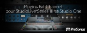 Plugins Fat Channel pour StudioLive et Studio One