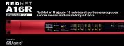 Focusrite RedNet A16R pour votre réseau Dante