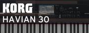 KORG présente l'HAVIAN 30 : piano et arrangeur