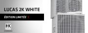 Le Lucas 2K, tout de blanc vêtu