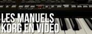 KORG : 8 manuels en vidéos !