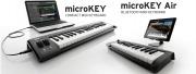 Nouveaux Korg microKEY et microKEY AIR