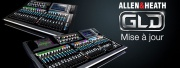 Allen & Heath : nouveau firmware GLD 1.6