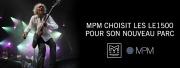 MPM choisit Martin Audio pour son parc de retours