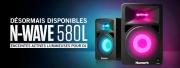 Numark : Enceintes actives lumineuses N-WAVE 580L