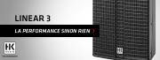 Les packs LINEAR 3 sont annoncés par HK Audio