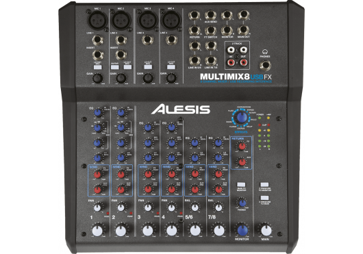 Alesis MIXEURS DE STUDIO MM8USBFX