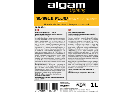 ALGAM LIGHTING Liquides BUB-ST-1L