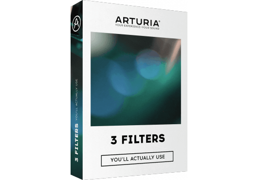 Arturia Hors catalogue 3FILTERS