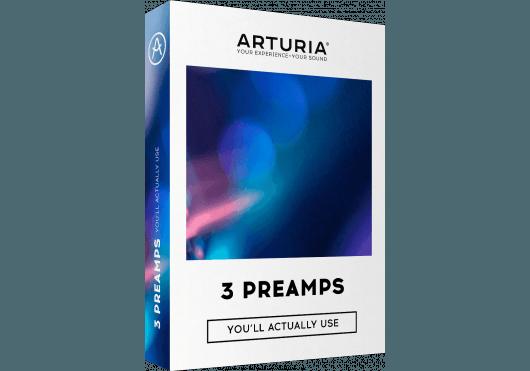 Arturia Logiciels 3PREAMPS