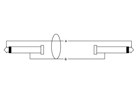 Cordial Câbles Instrument CCI3PP