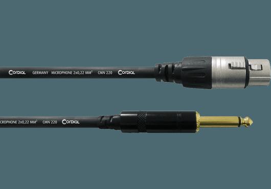CORDIAL Câbles microphone CCM5FP