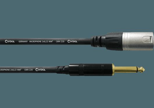 Cordial Câbles microphone CCM7.5MP