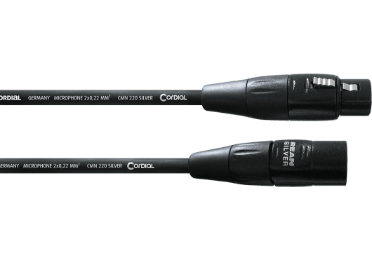 CORDIAL Câbles microphone CIM0.5FM