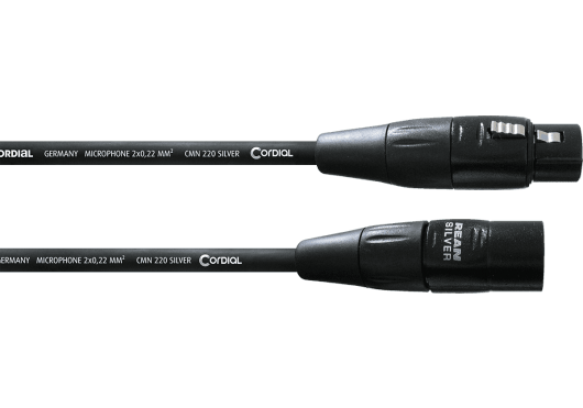Cordial Câbles microphone CIM1.5FM