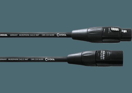 CORDIAL Câbles microphone CIM10FM