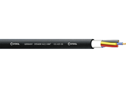 Cordial Bobines de câble CLS425-50-100