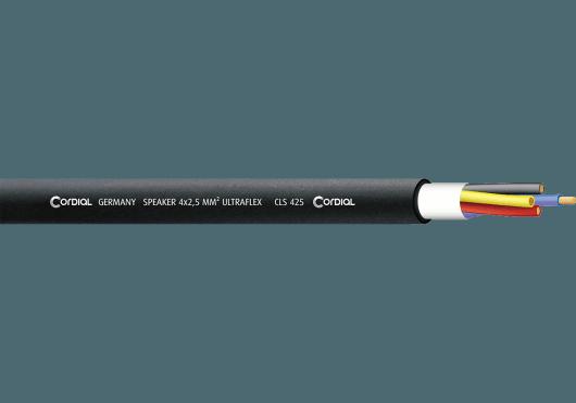 Cordial Bobines de câble CLS425BLACK100
