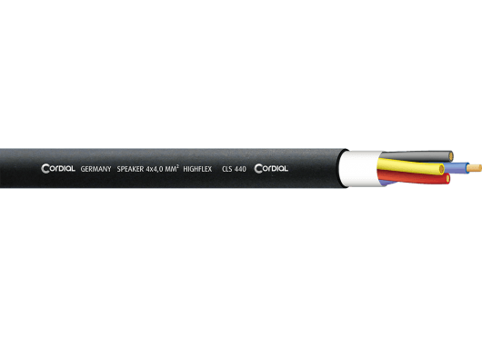 Cordial Bobines de câble CLS440BLACK100
