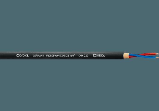 Cordial Bobines de câble CMK222BLACK100