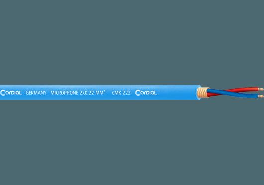 Cordial Bobines de câble CMK222BLU100