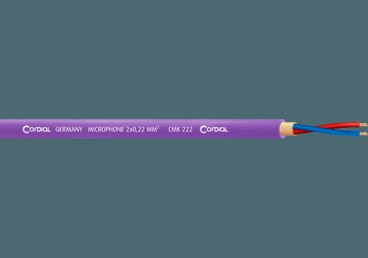 Cordial Bobines de câble CMK222VIO100