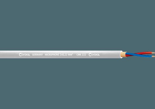 Cordial Bobines de câble CMK222WHITE100