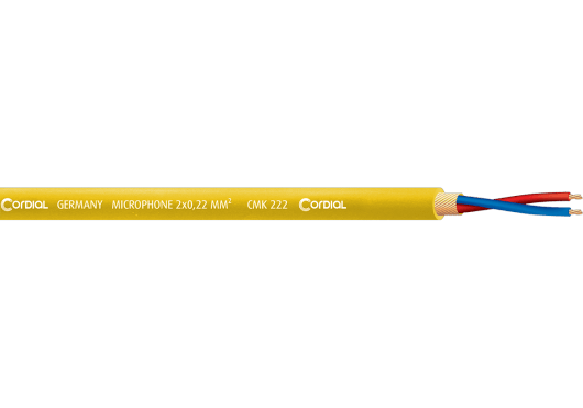 Cordial Bobines de câble CMK222YEL100