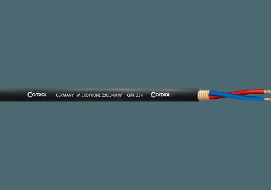 Cordial Bobines de câble CMK234BLACK100
