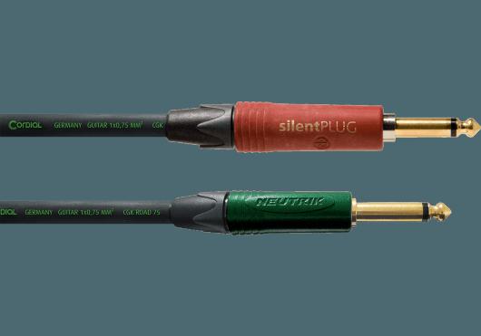 CORDIAL Câbles Instrument CRI3PP-SILENT