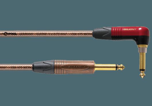 CORDIAL Câbles Instrument CSI3RP-METAL-SILENT