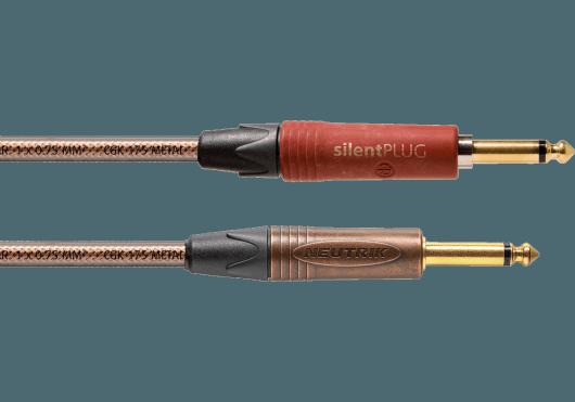 CORDIAL Câbles Instrument CSI6PP-METAL-SILENT
