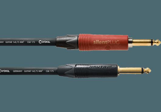 CORDIAL Câbles Instrument CSI6PP-SILENT