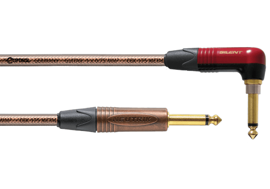 CORDIAL Câbles Instrument CSI9RP-METAL-SILENT