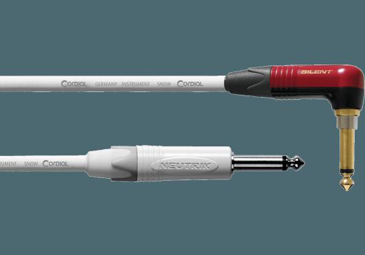 CORDIAL Câbles Instrument CXI3RP-SNOW-SILENT