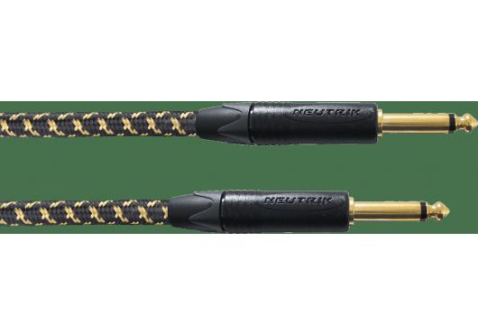 CORDIAL Câbles Instrument CXI6PP-TWEED-25A