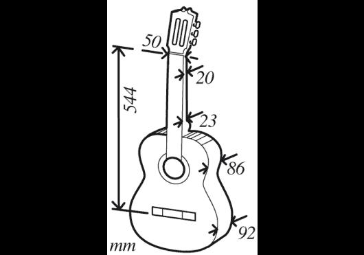 CUENCA Guitares 30REQUINTO