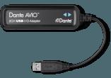 photo Adaptateur Dante-USB - 2 canaux E/S