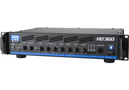 EBS Amplis basse HD360