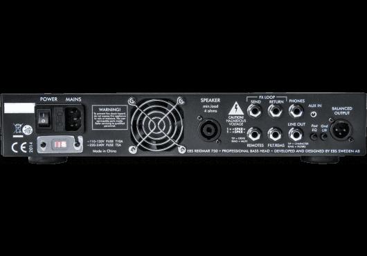 EBS Amplis basse REIDMAR-750